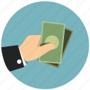 budget, cash, finance, money, payment, profit, shopping icon