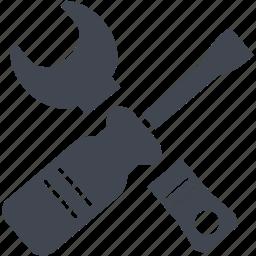 portfolio, project, service, tool, tools, work icon