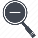 explorer, find, glass, look, magnifier, magnifying, magnifying glass, search, view, zoom icon