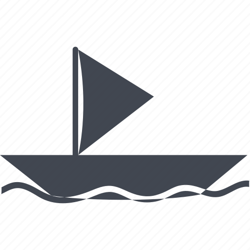 boat, ecommerce, ocean, river, sail, ship, shipping, shopping, transport, transportation, travel icon