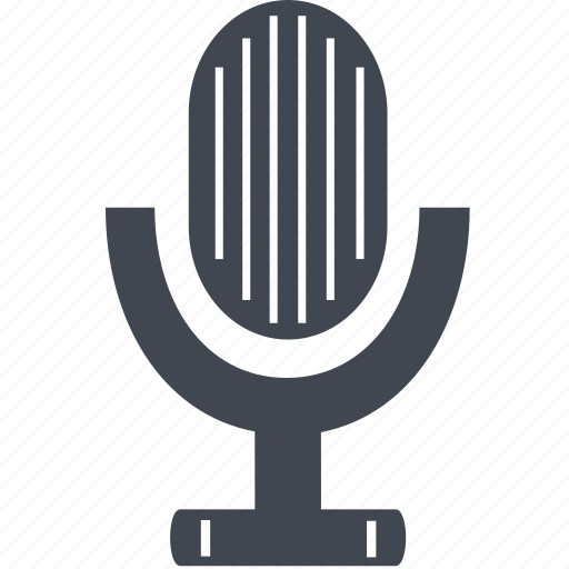 microphone, record, recorder, recording, sound icon