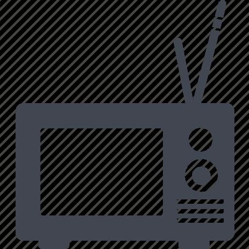 entertainment, film, movie, television, tv icon