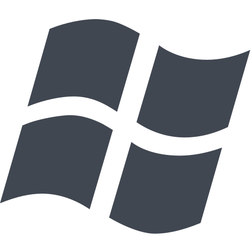 media, microsoft, window icon