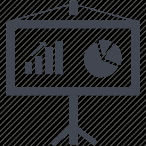 business, chart, diagram, finance, financial, graph, report, statistics icon