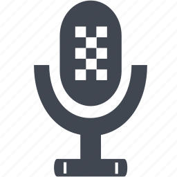microphone, recorder, sound, speaker, volume icon