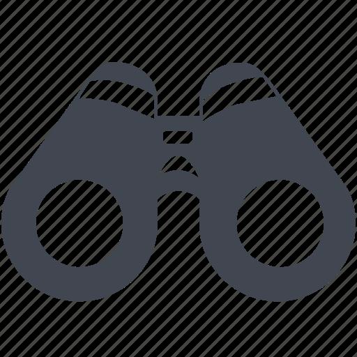 binocular, explore, find, locate, search, watch, zoom icon