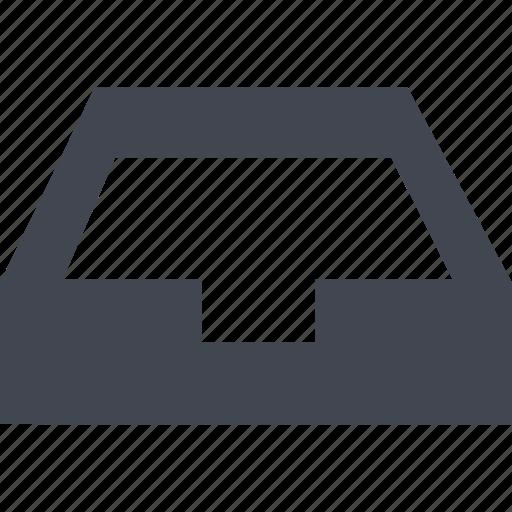 database, inbox, storage icon