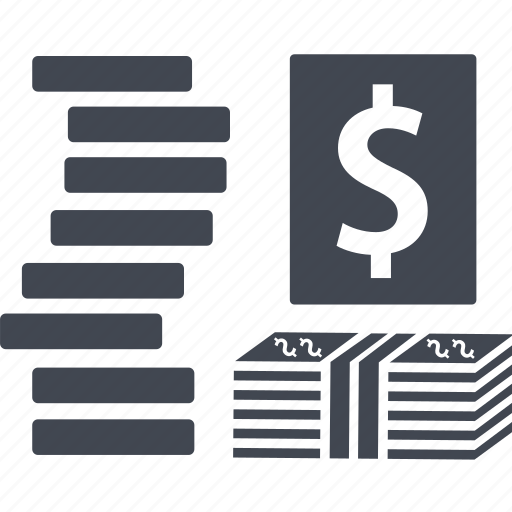 banking, business, currency, dollar, finance, financial, money, payment, profit icon