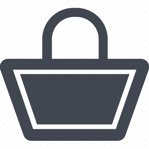 bag, cart, shopping cart icon
