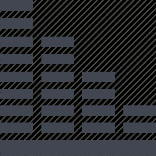 chart, loss icon