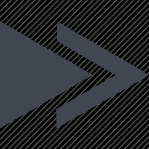 forward, next icon