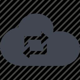 cloud, sync icon