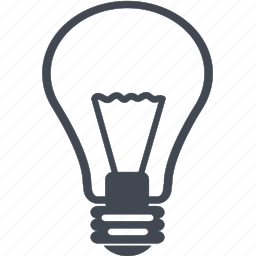 bright, bulb, electric, electricity, energy, idea, lamp, light, light bulb, lightning, power, traffic icon