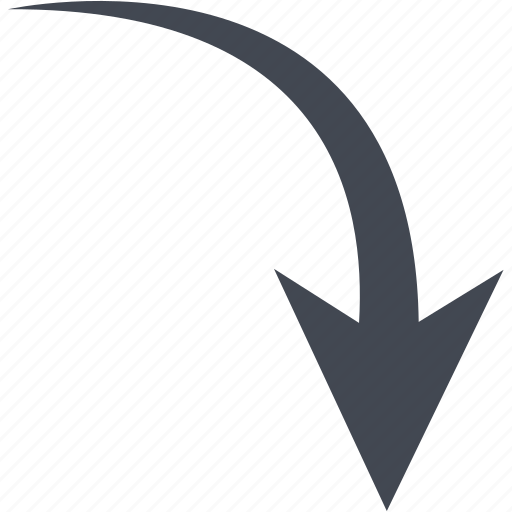 Down arrow, arrow, download icon - Download on Iconfinder