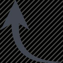 arrow, up arrow, upload icon