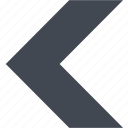 arrow, back, left arrow, previous icon