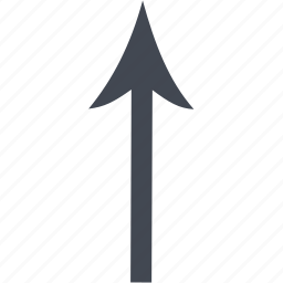 arrow, up arrow icon