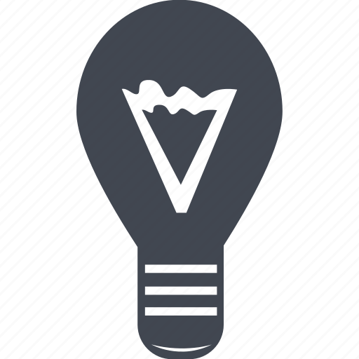 bright, bulb, electricity, energy, idea, light, lightning, power icon