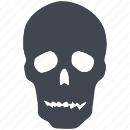 alert, caution, danger, dead, error, halloween, poison, problem, skull, warning icon