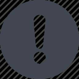 exclamatory icon