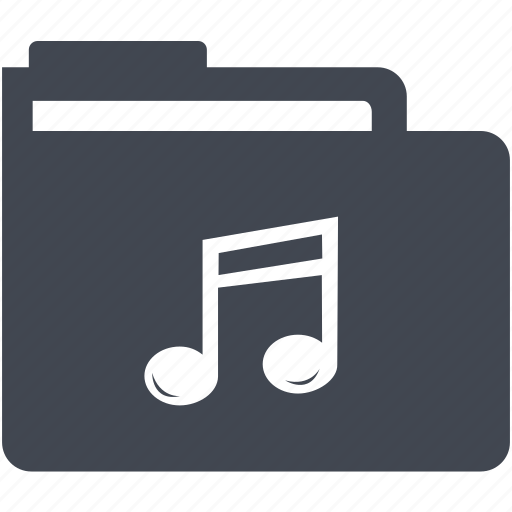 folder, music folder icon