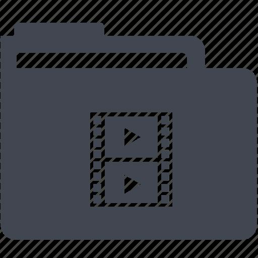 folder, media folder icon