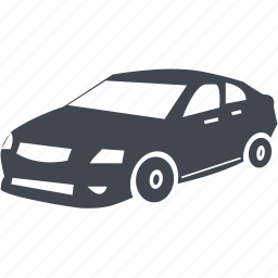 car, private car, traffic, transportation, travel icon