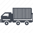 car, delivery, shipment, traffic, transport, transportation, truck icon