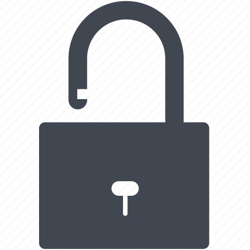 lock, password, privacy, private, protect, protection, safety, secure, security, unlock icon