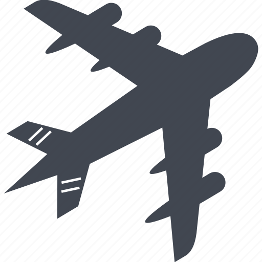 airplane, flight, fly, holiday, plane, travel, vacation icon
