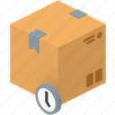 box, delivery, package, parcel, pending, post, waiting icon