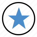 direction, favorite, rate, shape, star icon