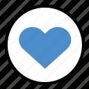 feelings, heart, like, love, vote icon
