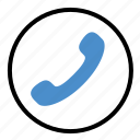 call, communication, network, phone, talk, telephone icon