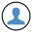 avatar, client, person, photo, profile, user icon
