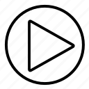 audio, music, play, player, sound, video icon