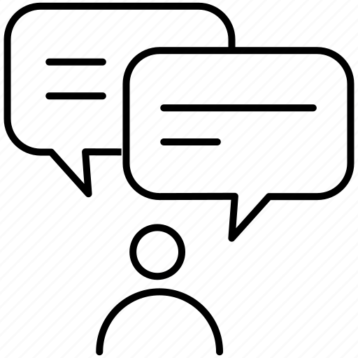 chat, conference, conversation, forum, group chat, idea, message icon