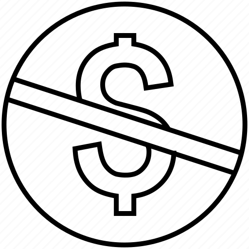 commerical, creative common, license, money, no money, non commerical, permit icon