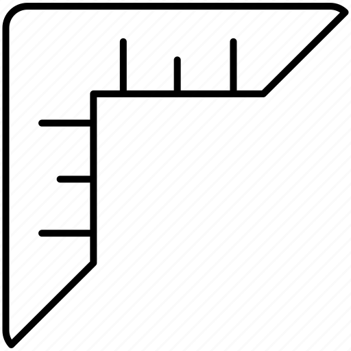 inch, measurement, scale, screen, size, size icon icon