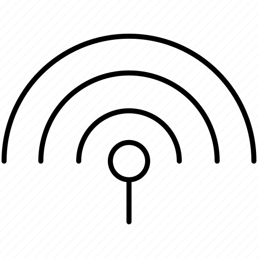 communication, connection, hotspot, internet, signal, wifi, wireless icon