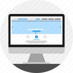 design, layout, page, template, website icon
