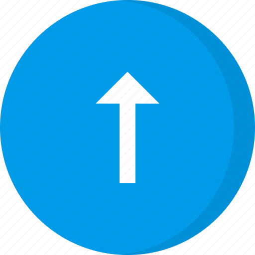 arrow, direction, increase, navigation, up, up arrow, upload icon