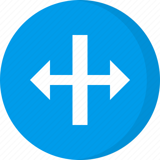 arrows, direction, enlarge, increase width, resize, scale, width icon