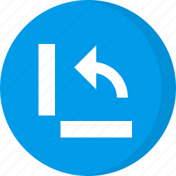 arrows, navigation, rotate, rotate counter clockwise, rotate horizontally icon