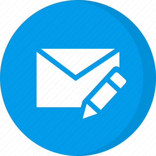 compose email, compose mail, create mail, create message, edit email, letter, message icon