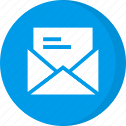 email, email letter, message, newsletter, open mail, read mail icon