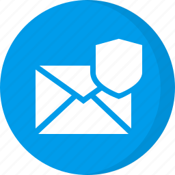 email protection, protected, protected email, protected mail, safe mail, secured email, sheild icon