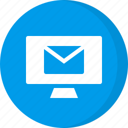 computer email, email, incoming icon