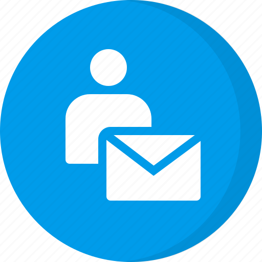 email, email user, personal email, personal mail, private message icon