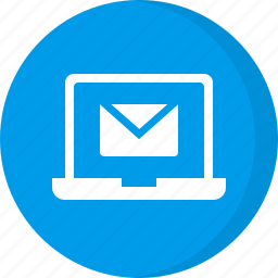 email, email laptop, laptop icon